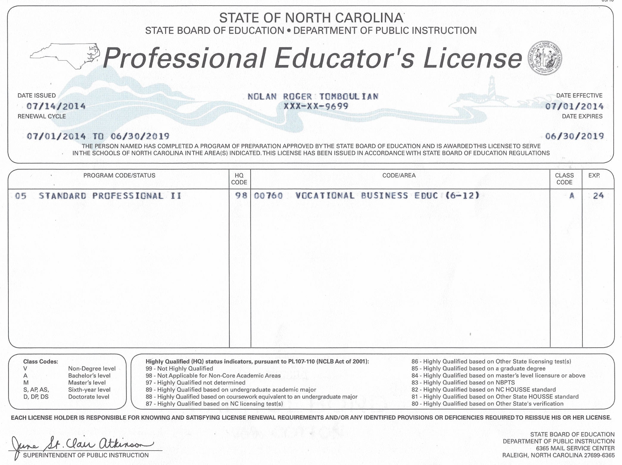 New pictures of sc teacher certification business cards and teacher certification nc great teacher 2017 xflitez Image collections
